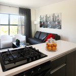 Each Home Comes Black Under Counter Electric Oven Gas Hob And