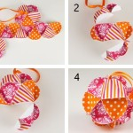 Easy Make Christmas Ornaments Geodesic Step Final Assembly