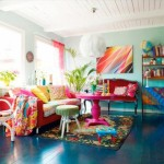 Ecelctic How Warm Your Home Tropical Colors