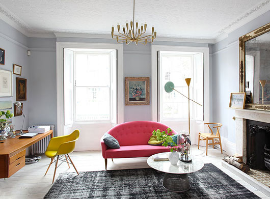 Eclectic Interior Great Mix Color