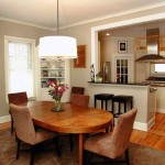 Elegance Look Combining Kitchen And Dining Room