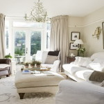 Elegant White Home Decorating Ideas Small Living Room