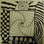 Elementary Art Rooms Optical Illusion Project Grade