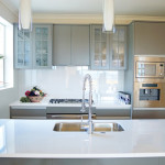 Elements Recycled Glass Countertops Modern Kitchen