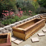 Encinitas Yard Planter Boxes Modern Outdoor Products San Diego