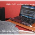 End Bed Stand Laptop Table Bedroom Couch Multi Use