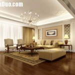 Euro Style Living Room Design Layout Sofa Decor