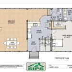 Example Open Concept Barn Home Plan The Main Living Areas Are