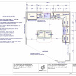 Example The Floor Plan Created For Kitchen Project