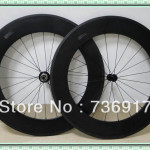 Excellent Appearance High Performance Road Bike Carbon Wheel Clincher
