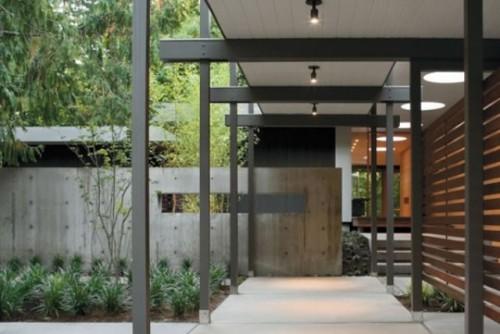 Exciting Home Entrance Design Residence