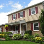 Exterior Choosing The Right Color Painting Aluminum Siding Creme