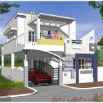 Exterior House Designs India Like Contemporary Home