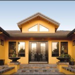 Exterior House Painting Ideas Yellow Theme