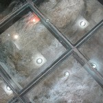 Fabric Shop Installed Clear Glass Floors That The Old Streets
