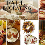 Fall Harvest Decor Time For Little House Warming