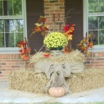 Fall Porch Display Covered Ideas Decor Inspiration