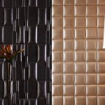 Faux Leather Wall Tiles From Nappatile Cool Commercial Spa