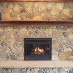 Feature Fireplace Sandstone Hearth