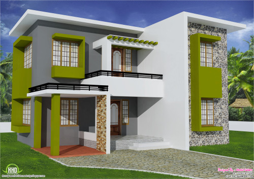 Feet Flat Roof Home Design Kerala