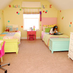 Feminine Decorating From Yellow Girl Bedroom Ideas Pictures Gallery