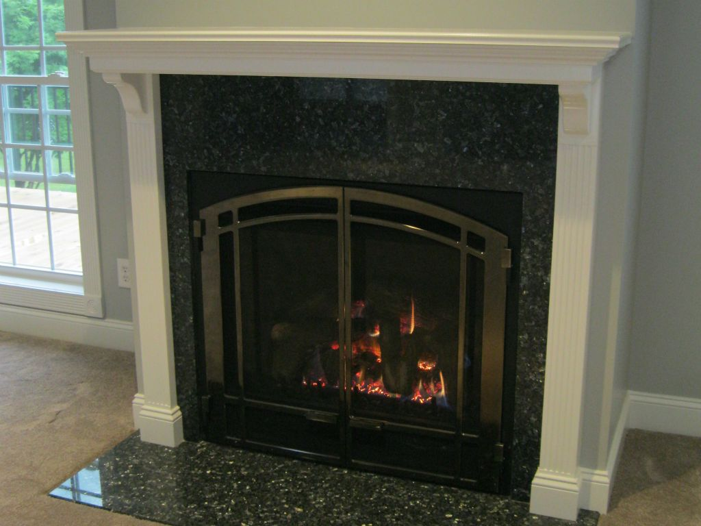 Fireplace Doors For Gas Fireplaces Ideas