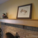 Fireplace Mantel Facelift Cover Great Diy Projects