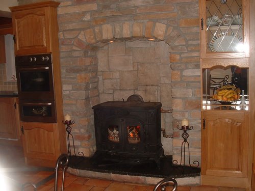 Fireplace Stone Designs Outdoor