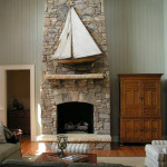 Fireplace Stone Ideas For Cozy Nature Inspired Home