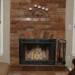 Fireplace Surround Fascinating Stacked Stone Designs
