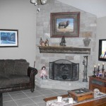 Fireplace Update Redid Our And Wanted Share Had