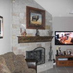 Fireplace Update Redid Our And Wanted Share Walls Are