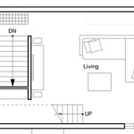 First Floor Plan Compact Minimalism Bright Japanese House Inspiring