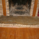 Flagstone Fireplace Hearth Flickr Sharing