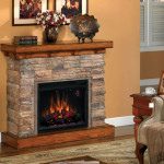 Flagstone Fireplace Wagon Yard Furnishing Collectibles For Home
