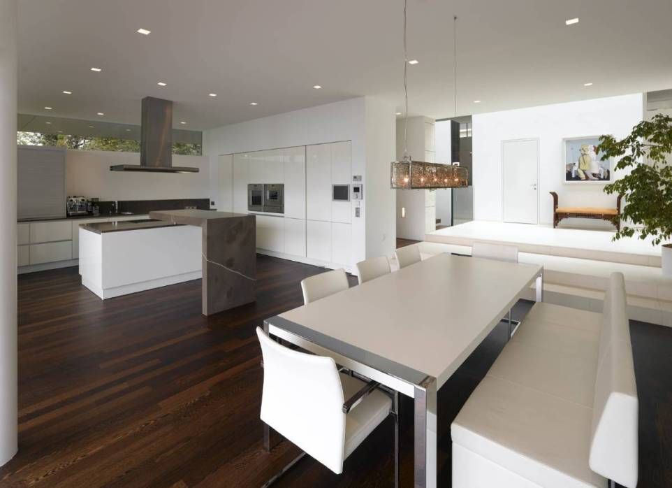 Floor Decorating Ideas Will Give You About Modern White Kitchens
