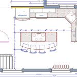Floor Plan Home Use For Kitchen And Bathroom Design Architectural Pic