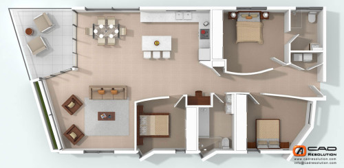 Floor Plans Rendering Plan Modeling Design