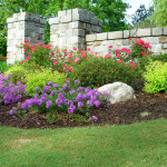 Flower Bed Design Install Continued