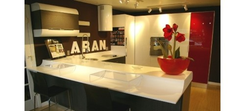 Foot Kitchen Cabinets Modern Showroom