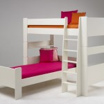 For Shaped White Bunk Bed Popsicle