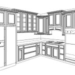 For The Love Cottage Kitchen Cabinets Layout Finalized