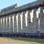 Found Modern Day Italy Example Greek Doric Architecture