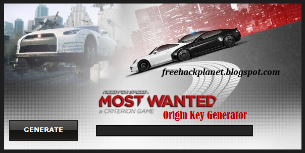 Free Key Generator For Need Speed Most Wanted