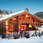 French Alps Residence Chalet Chic Insideoutmagazine