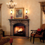 French Stone Fireplace Mantels For All Tastes