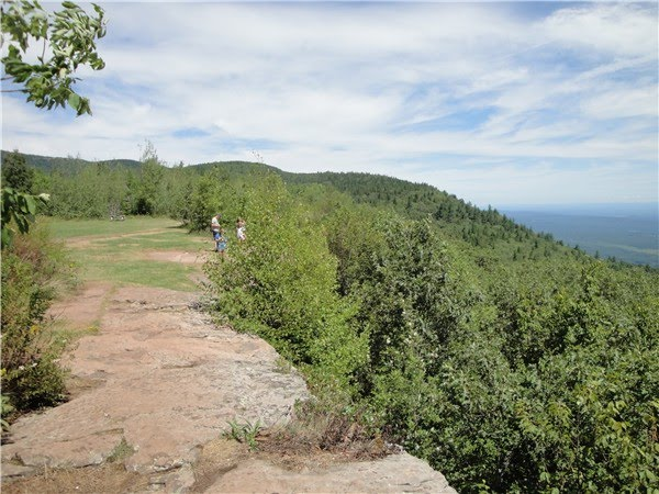 From Catskill Mountain House Continue The Blue Blazed Escarpment