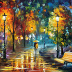 From The Last Outlaw Magical Paintings Leonid Afremov