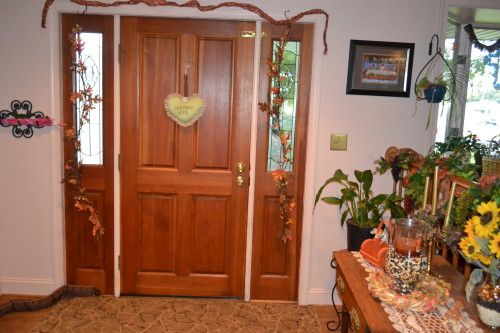 Front Door Fall And Thanksgiving Ideas