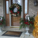 Front Door For The Holiday Season Christmas Decor Ideas